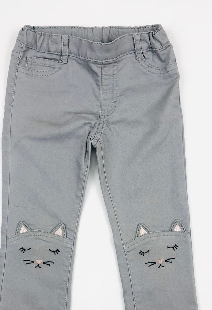 H&M Sleeping Cat skinny Pants