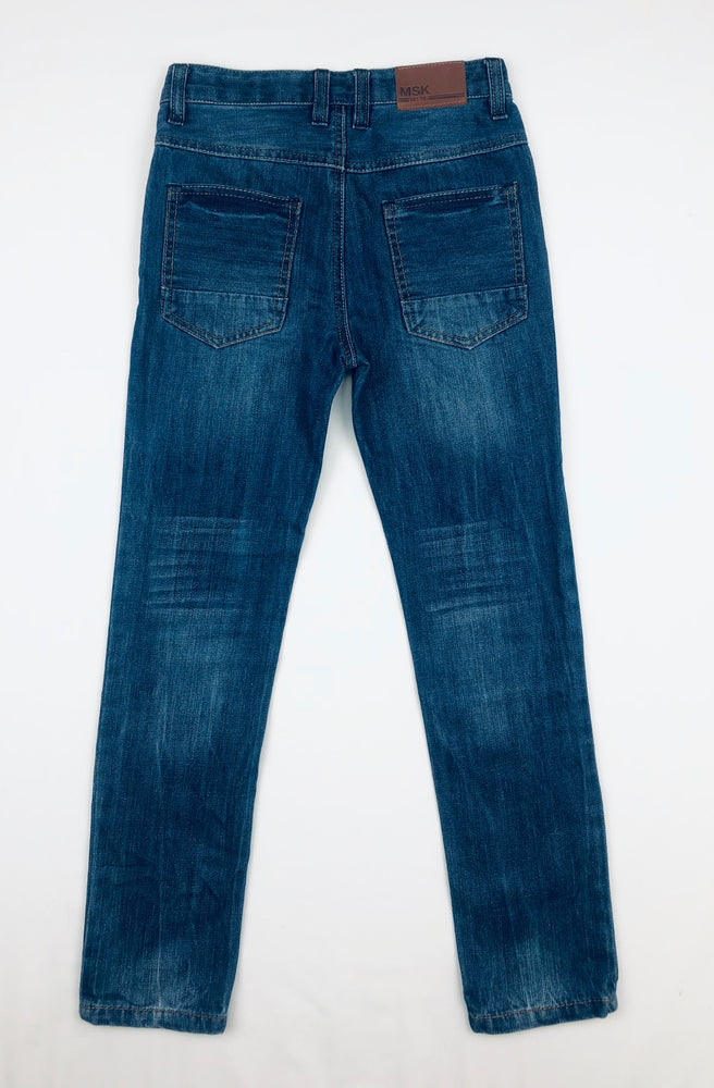 Milkshake Boys Patched Denim Pants