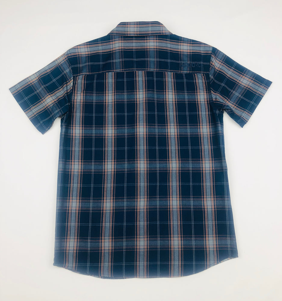 Rip Curl Boys Plaid Polo Shirt