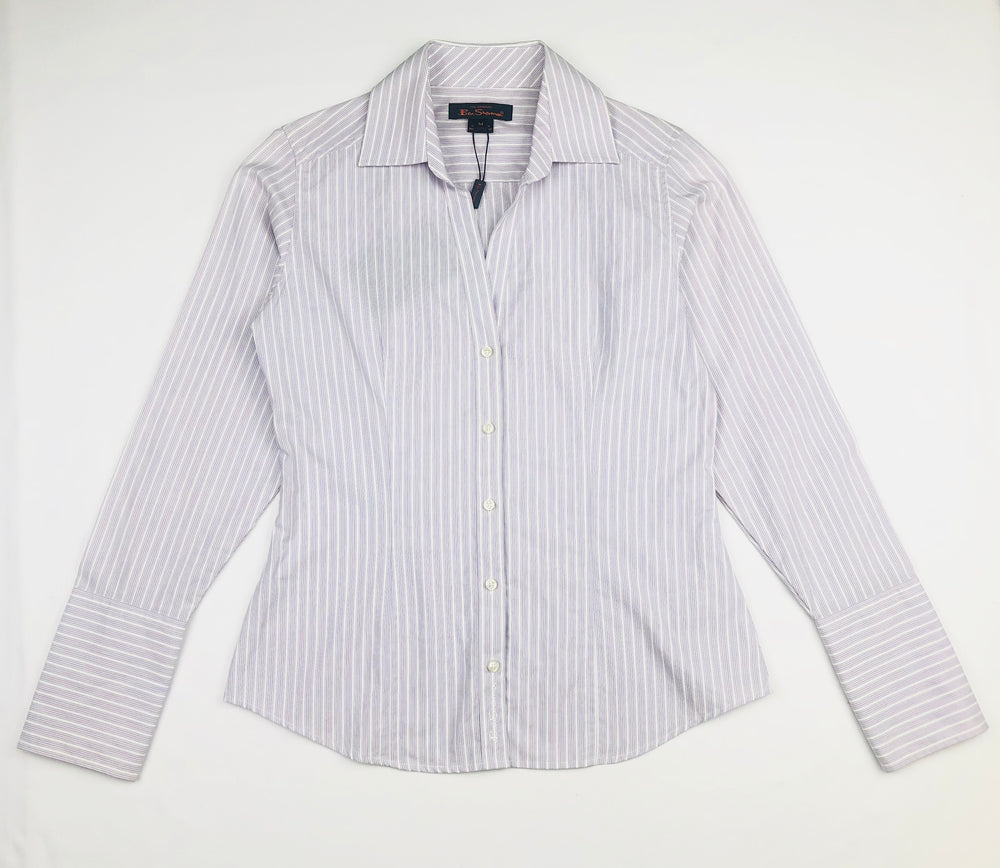 Ben Sherman Girls Westminster Shirt Lilac