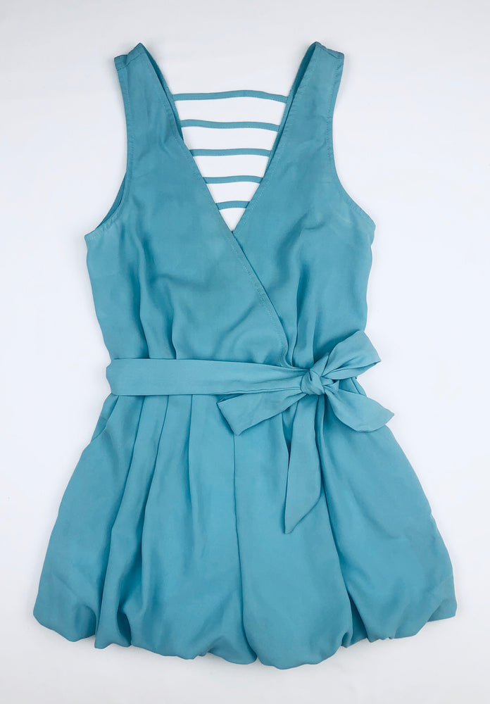 Alive Girls Seafoam Bubble Playsuit