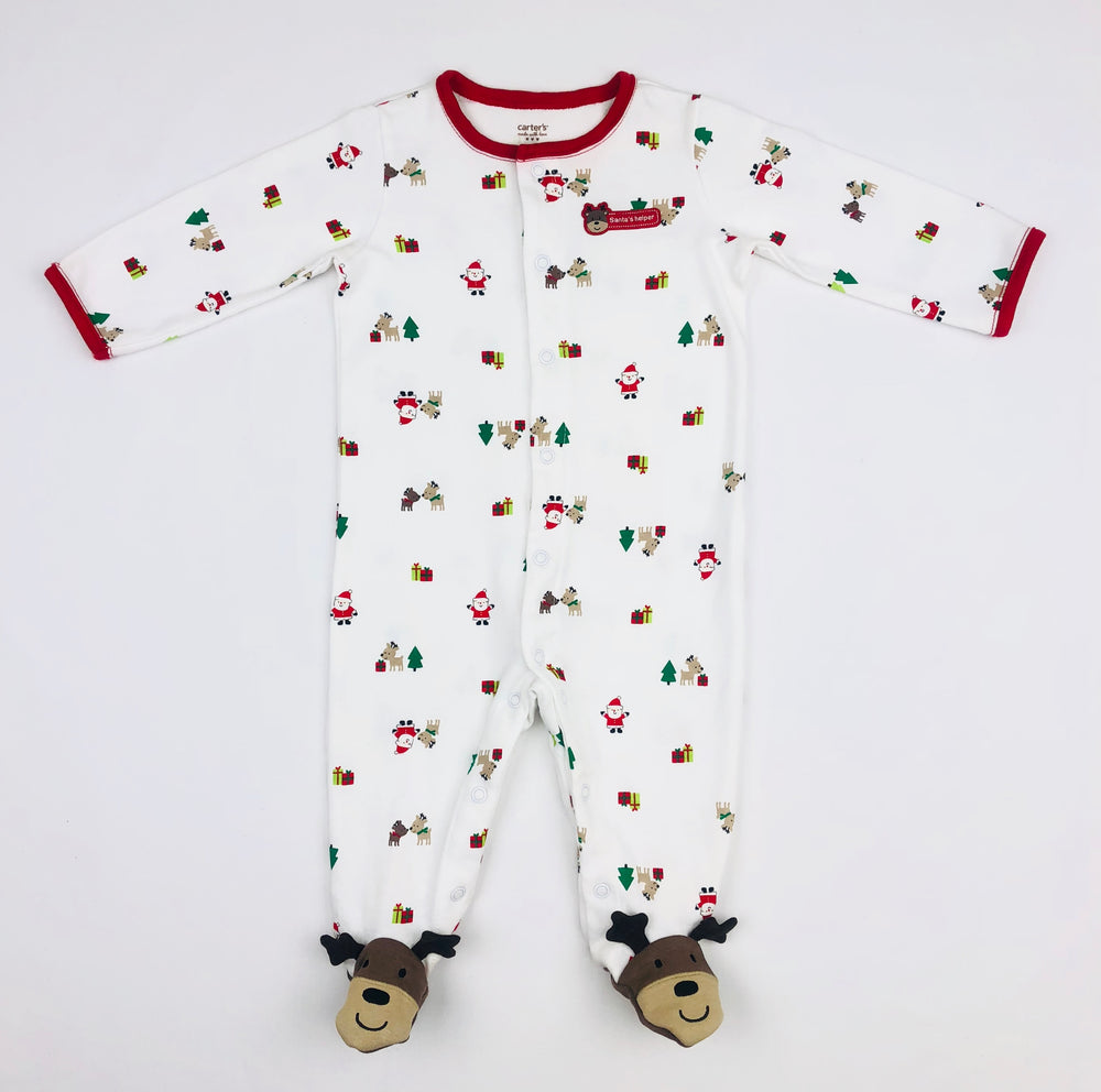 Carter's Santa's Helper Jumpsuit
