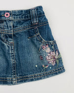 Next Baby Girls Denim Skirt