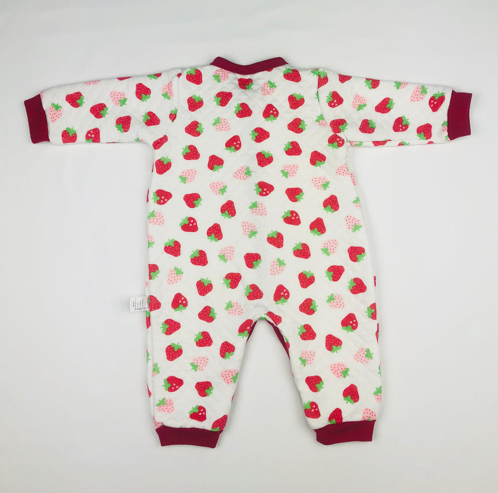 Strawberries Baby Girls Cool Suit