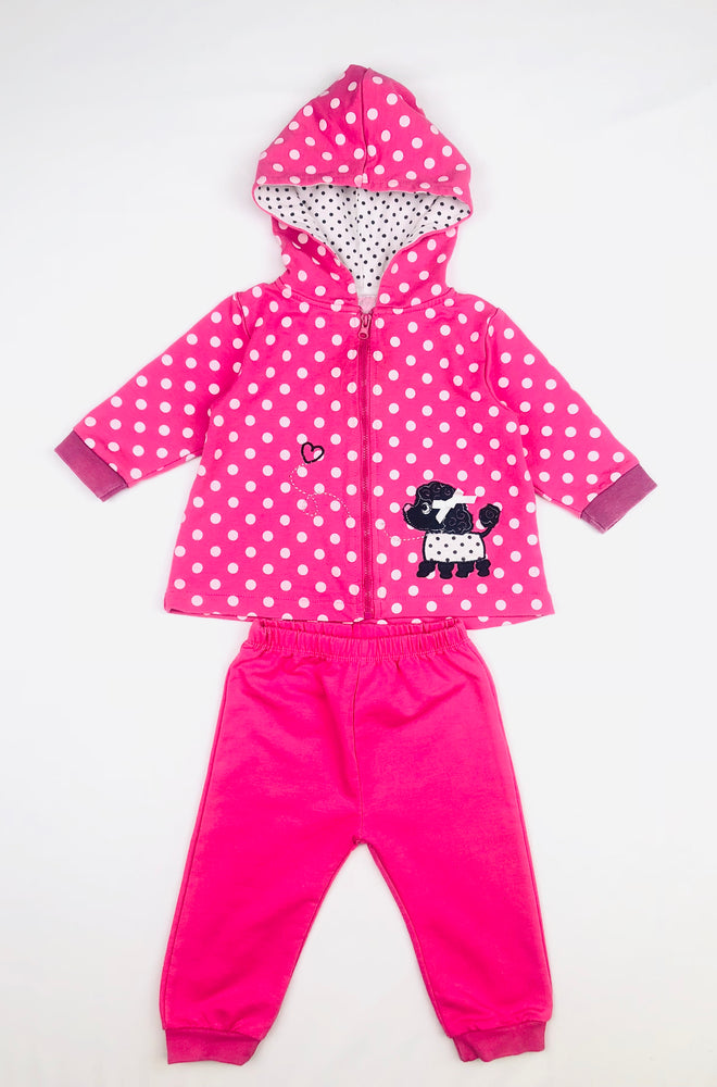 Funky Babe Poodle Trackies Set