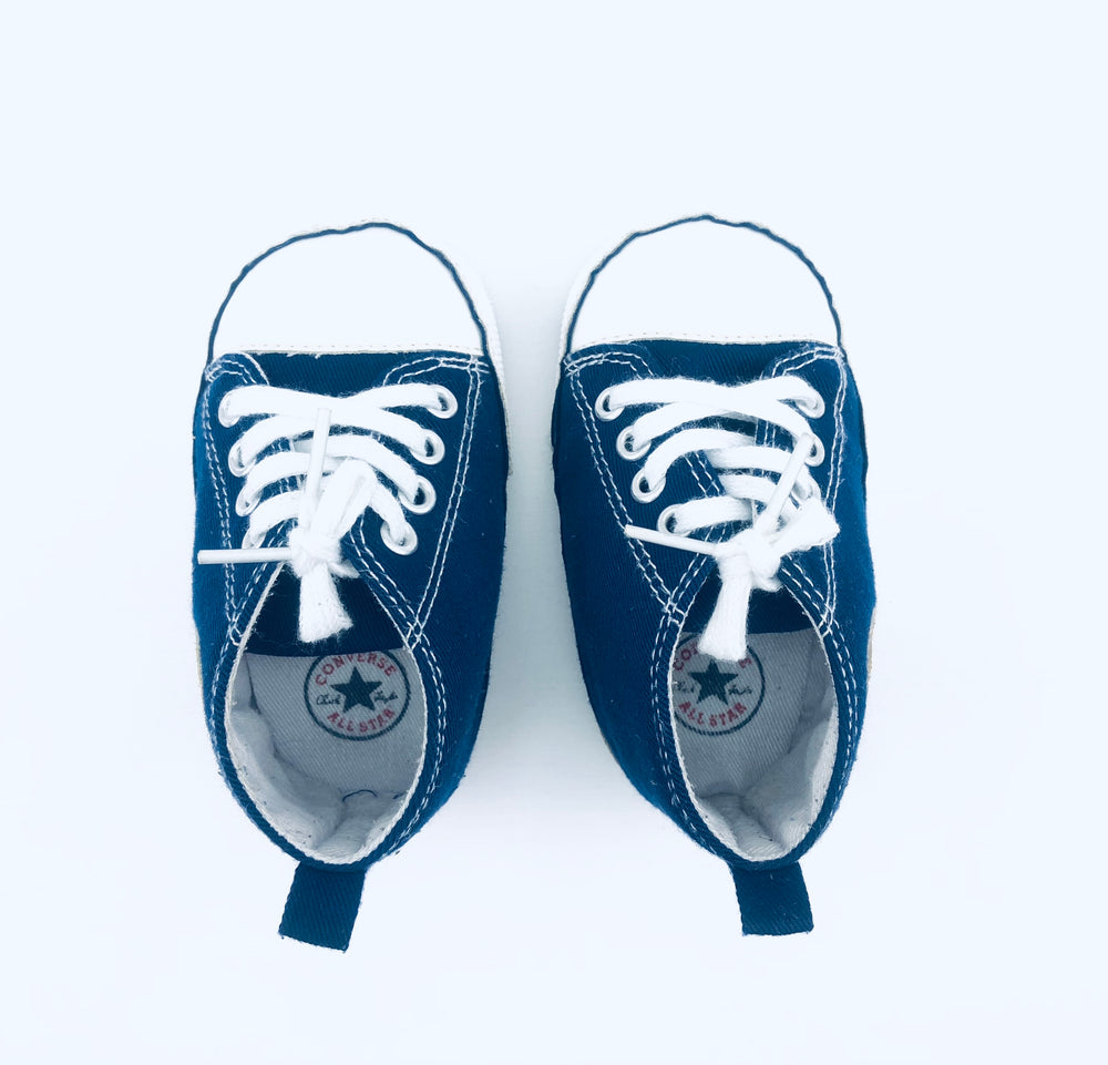 Converse All Star Navy Pre-walker Shoes