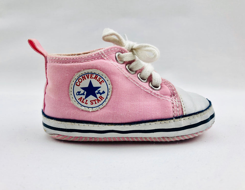 Converse All Star Pink Pre-walker Shoes