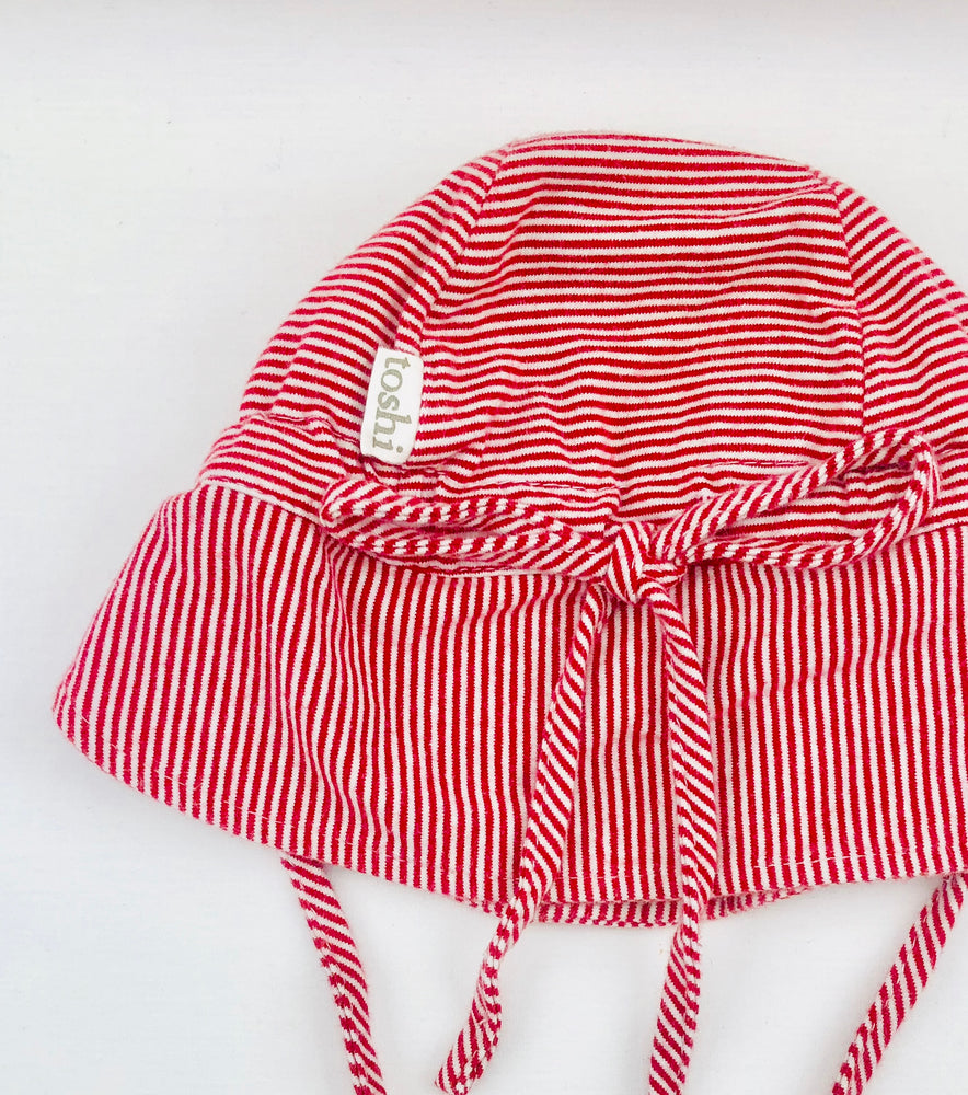 Toshi Stripe Baby Girls Cap