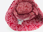 Plum Brother Red Bucket Hat
