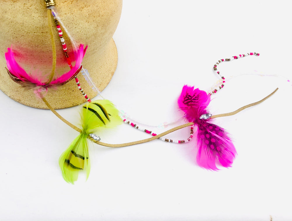 Feather Butterfly Hair Accessory