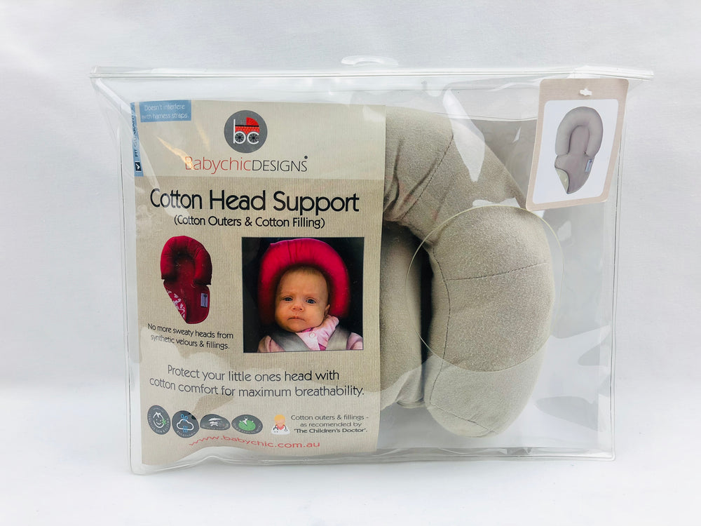Baby Chic Designs Cotton Head Support