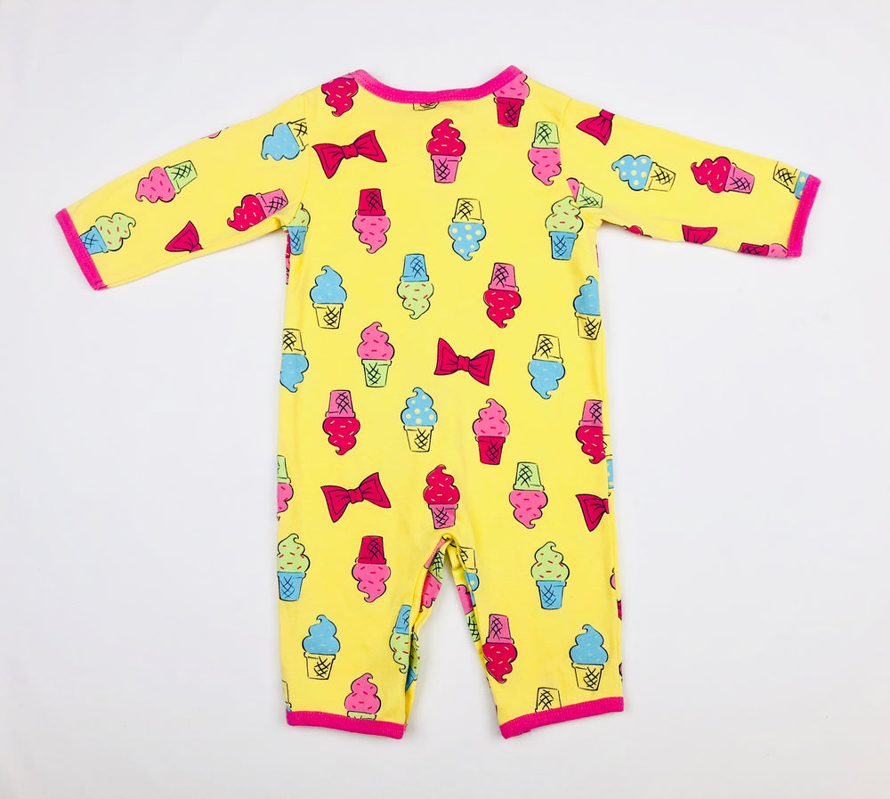 Carter's Sundaes & Bows Jumpsuit