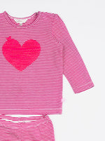 Fox & Finch Love Heart PJ's Set