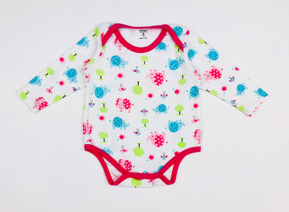 Carter's Made w/ Love Nature Girls Bodysuit