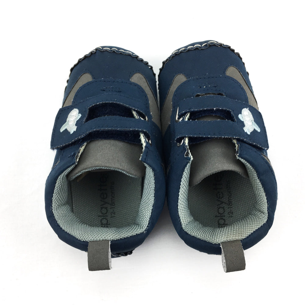 Playette Airplane Soft Sole Shoes