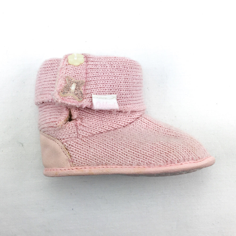 OshKosh Knitted Girls Booties