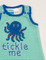 Hundreds + Thousands Tickle Me Boys Romper