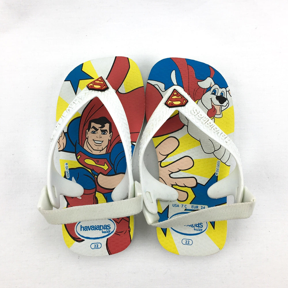 Havaianas Boys Superman Thongs