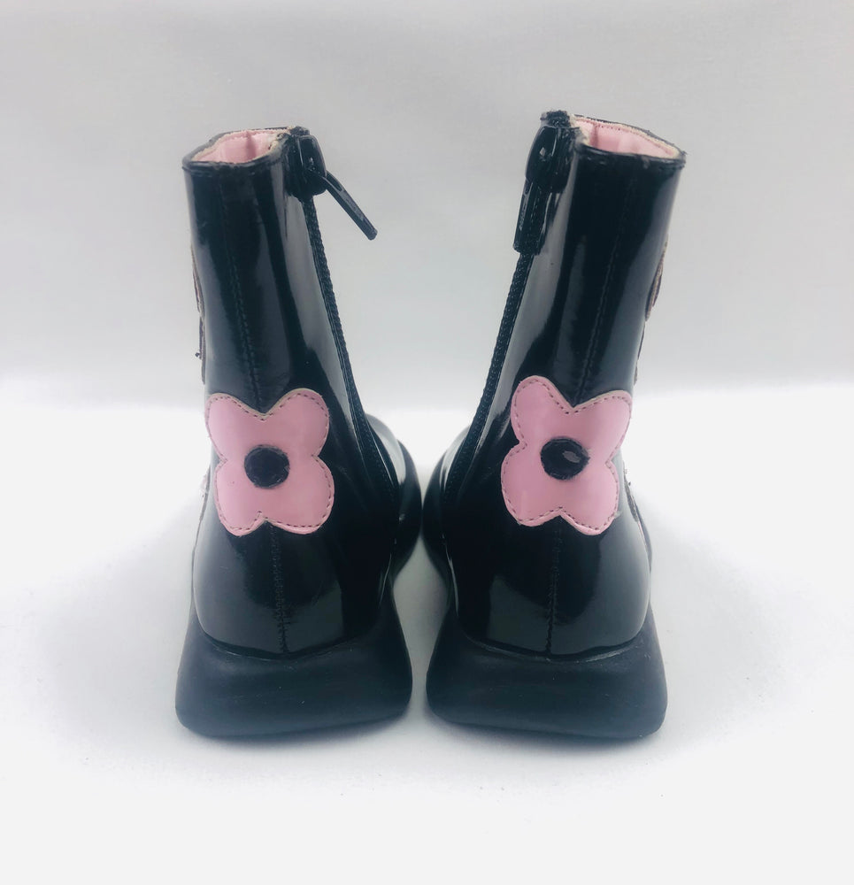 Crayons Girls Black Boots