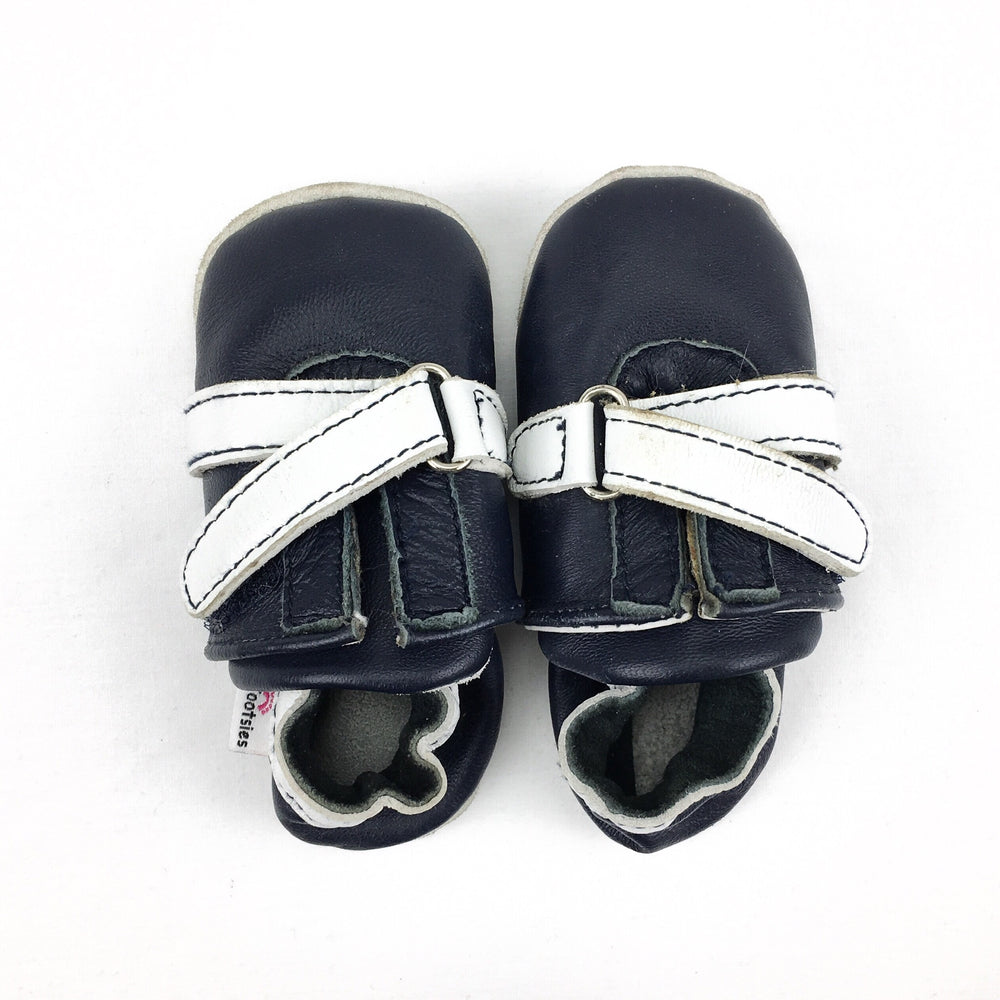 Tiny Tootsies Soft Sole Navy