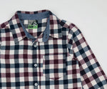 Waga Dude Boys Plaid Shirt