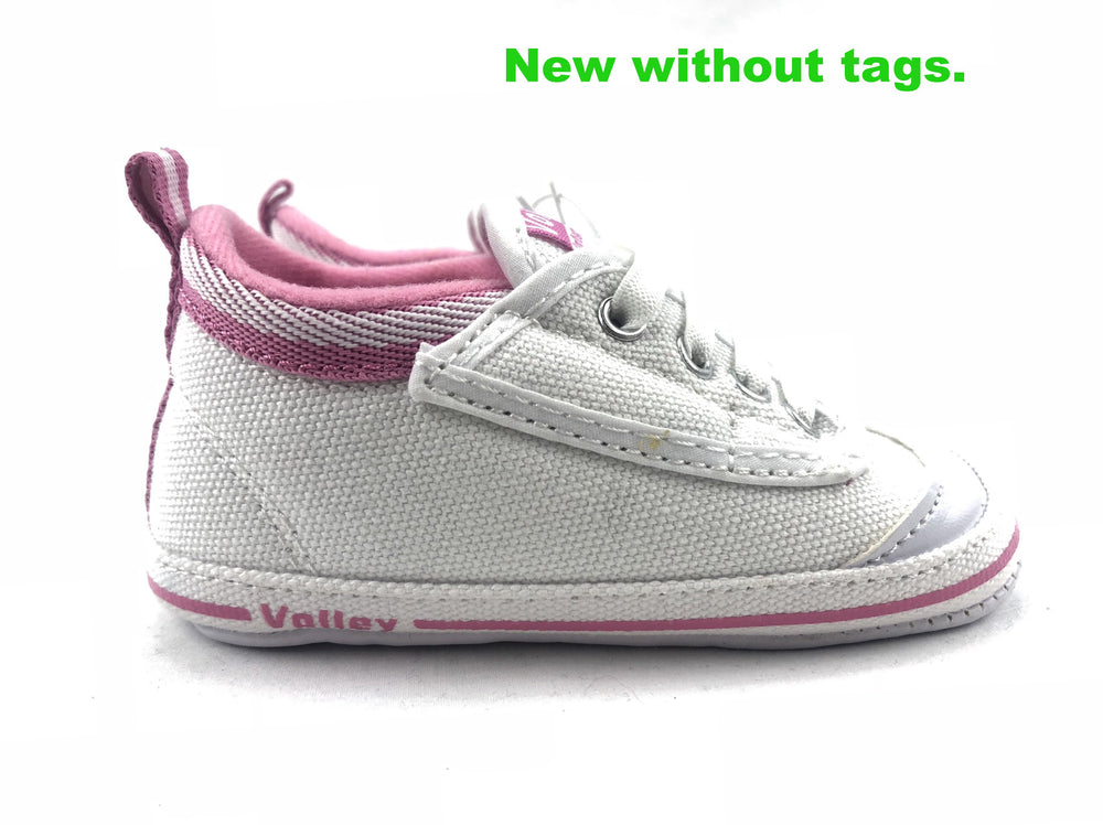 My First Volley Girls Cotton Canvas Shoes