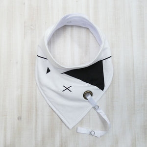 Dribble Bibs with Binky Clip