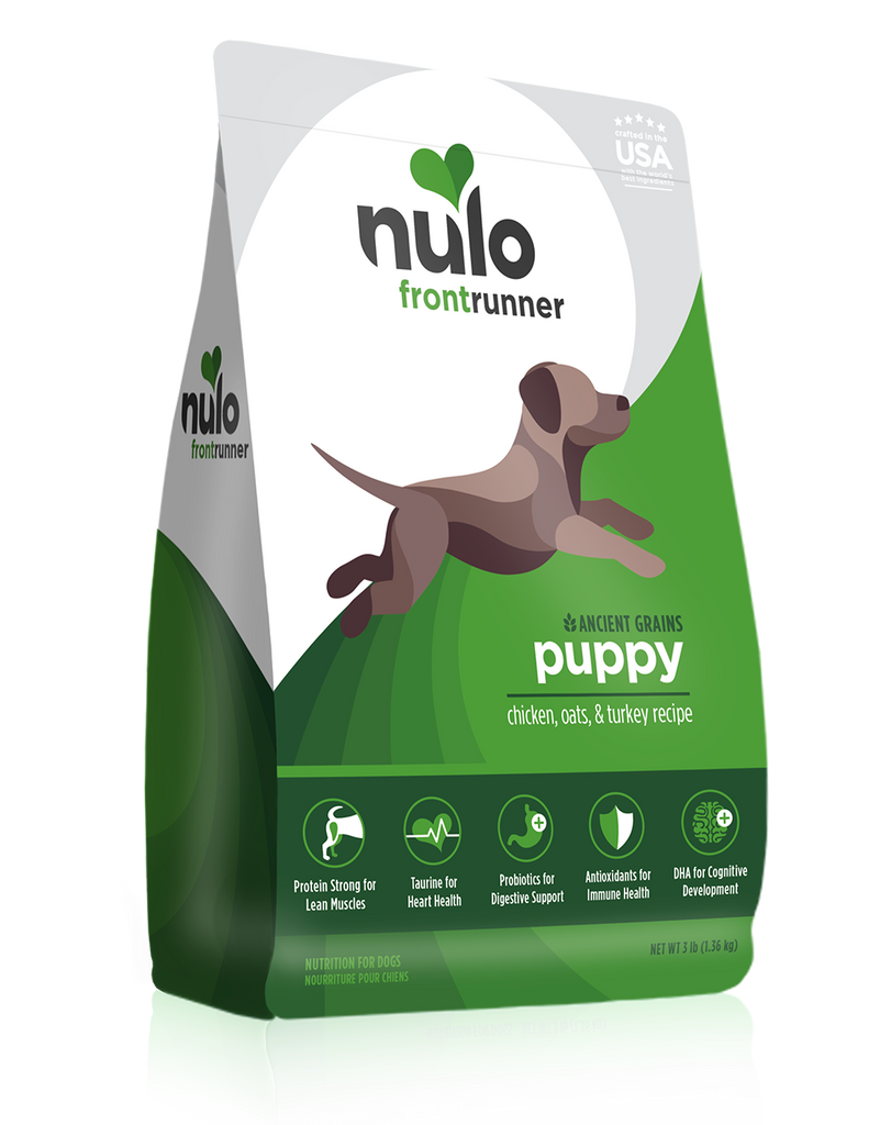 Frontrunner High-Meat Kibble for Puppies chicken, oats & turkey recipe