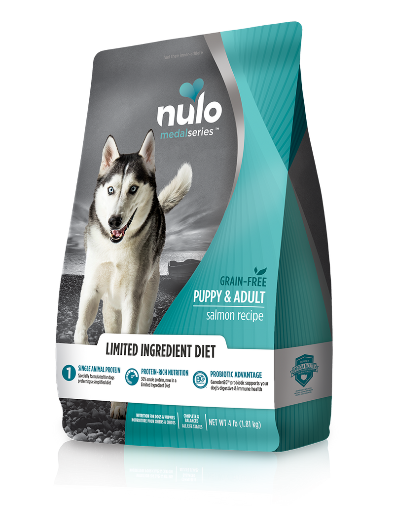 MedalSeries High-Meat Kibble limited ingredient diet salmon recipe