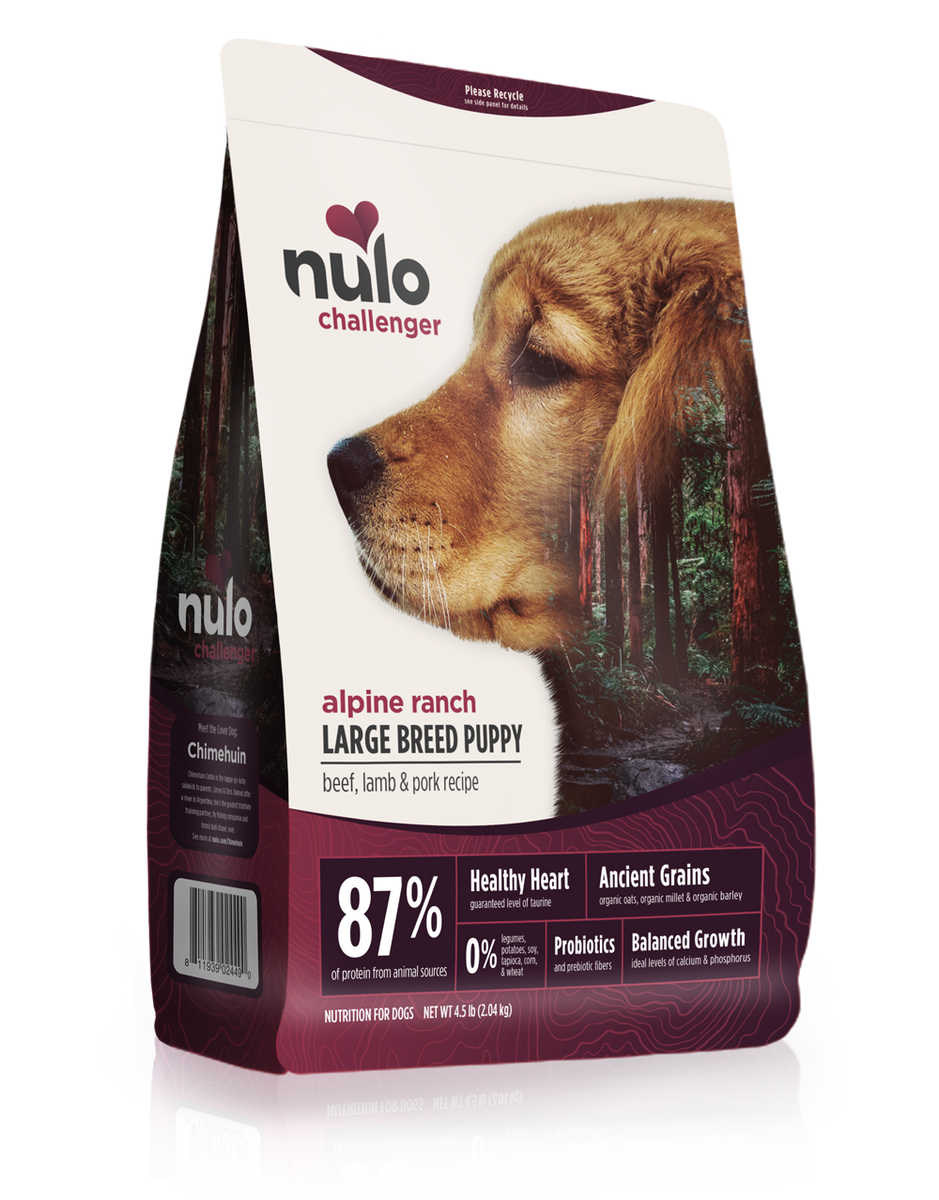 Challenger High Meat Kibble For Large Breed Puppies Beef