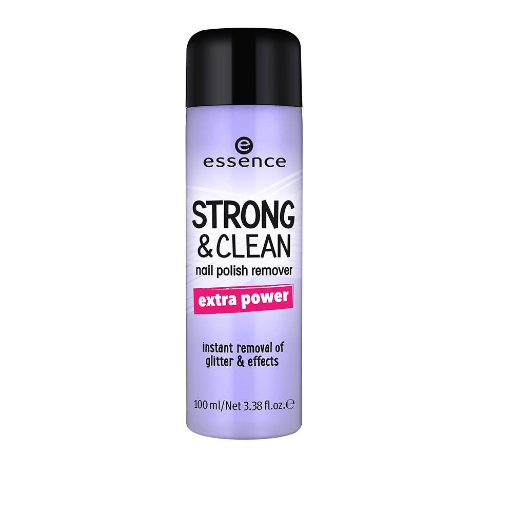 Essence Cosmetics Strong & Clean Nail Polish Remover 02