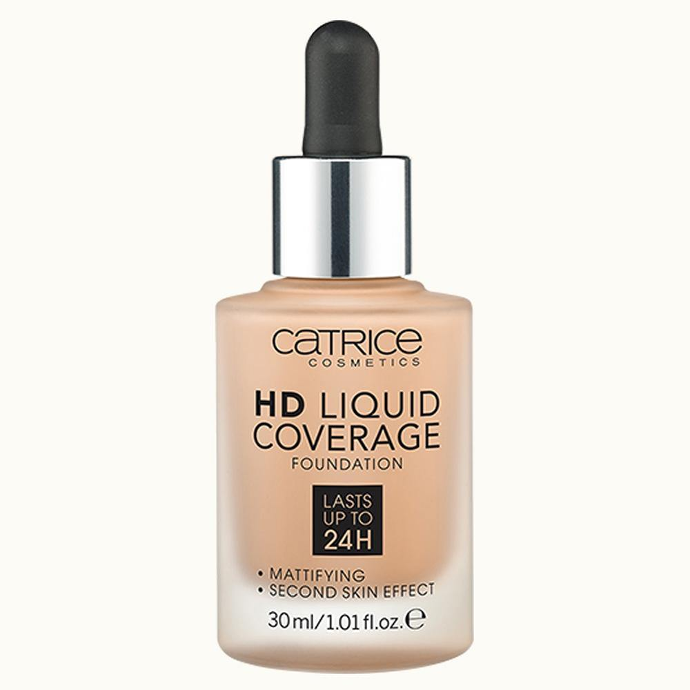 Catrice HD Liquid Coverage Foundation | Nude Beige 032 | 4059729034380