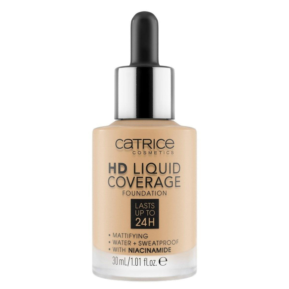 Catrice HD Liquid Coverage Foundation | 24 Shades