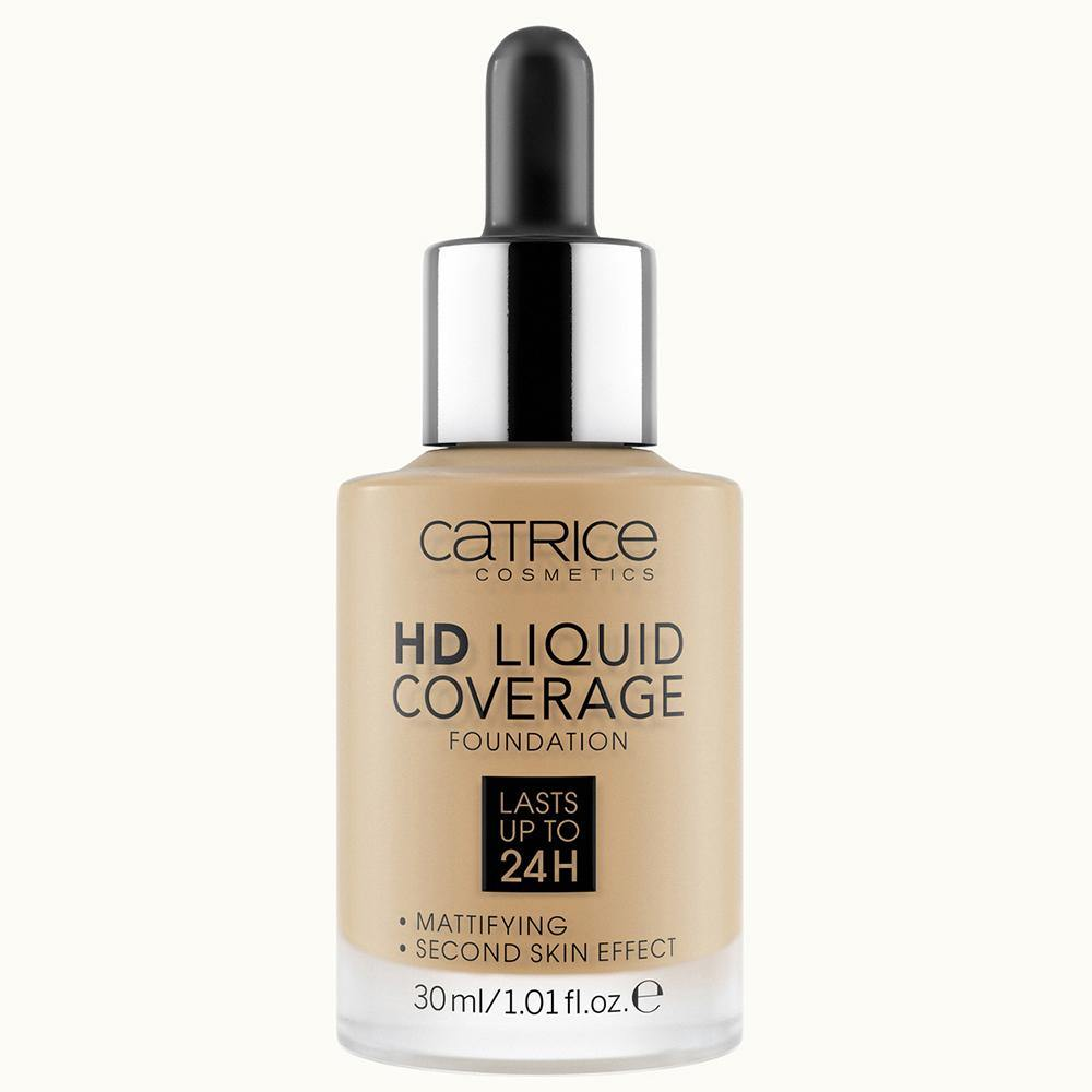 Catrice HD Liquid Coverage Foundation | Camel Beige 046 | 4059729034465