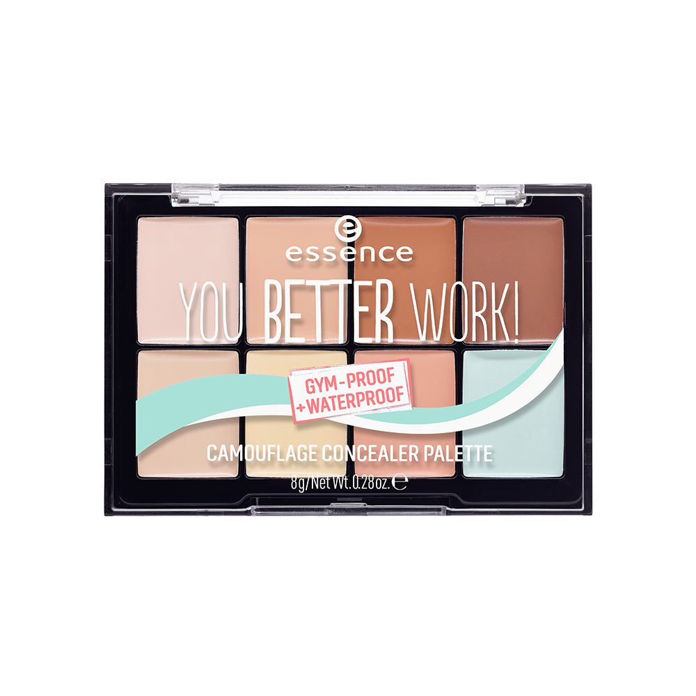 You Better Work! Camouflage Concealer Palette - X3 Pack Size Bundle