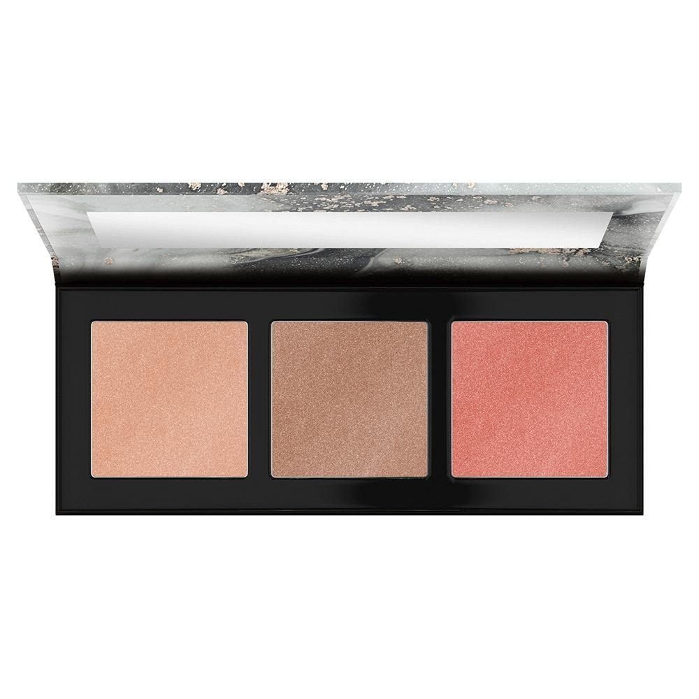 Catrice Luminice Highlight & Blush Glow Palette 010 Rose Vibes Only