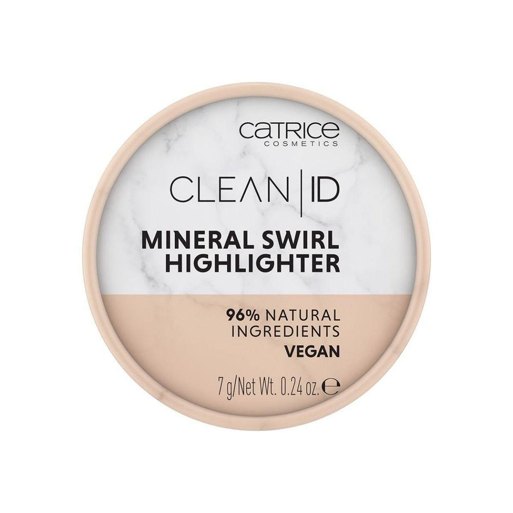 Catrice Clean ID Mineral Swirl Highlighter | Gold 020 | 4059729219473