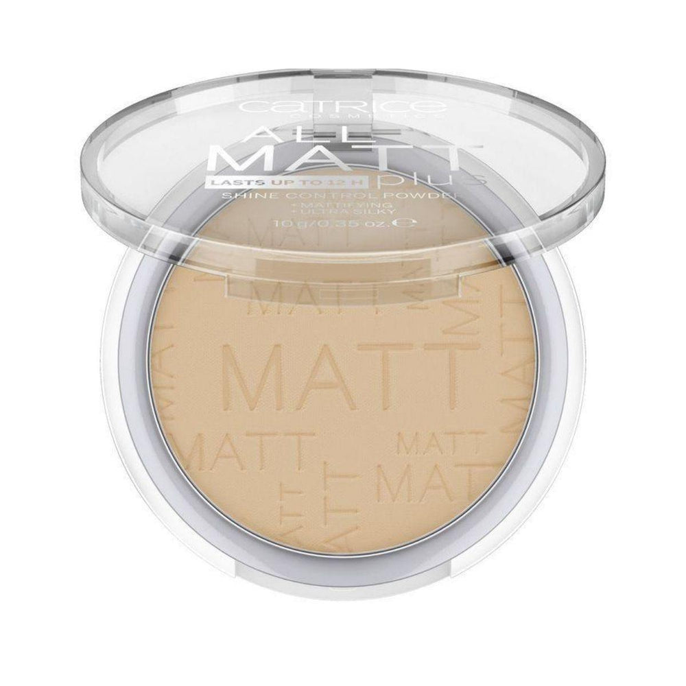 Catrice All Matt Plus Shine Control Powder | 5 Shades - House of Cosmetics