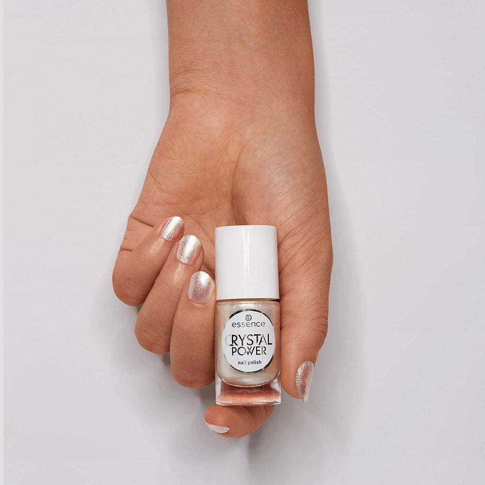Essence Crystal Power Nail Polish 01