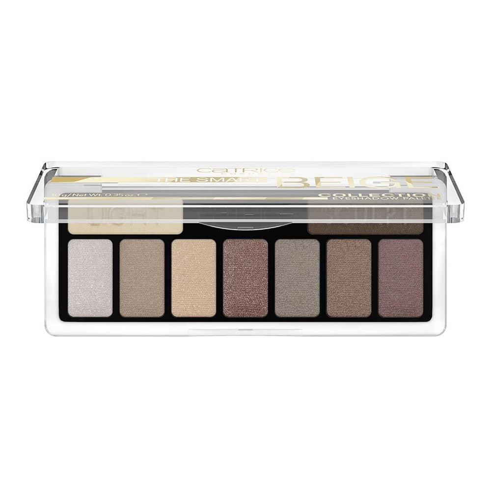 Catrice The Smart Beige Collection Eyeshadow Palette 010 Nude But Not Naked