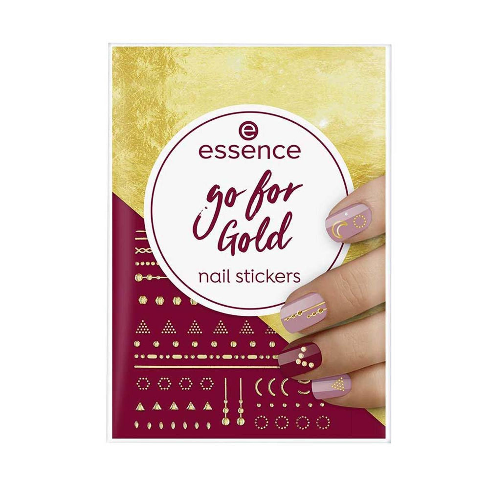 Essence Go For Gold Nail Stickers
