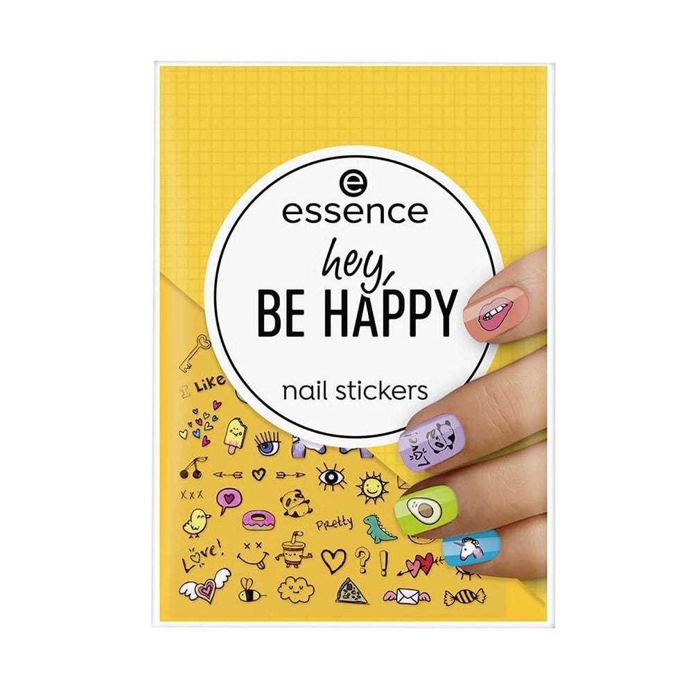 Essence Hey, Be Happy Nail Stickers