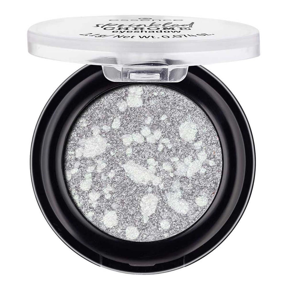 Essence Sprinkled CHROME Eyeshadow | Mercury 02 | 4059729254382
