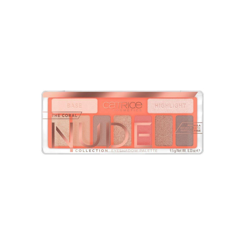 Catrice The Coral Nude Collection Eyeshadow Palette | 010 Peach Passion | 4059729270801