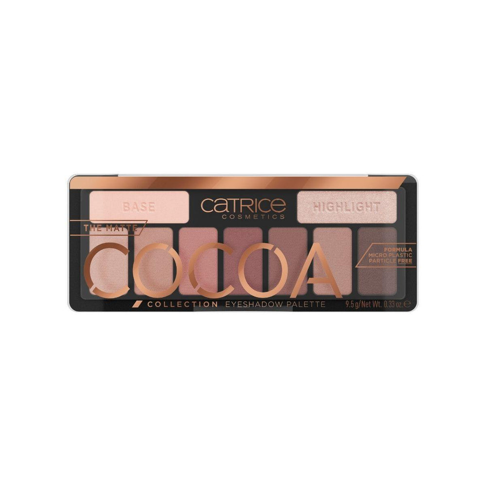 Catrice The Matte Cocoa Collection Eyeshadow Palette | 010 Chocolate Lover | 4059729270825