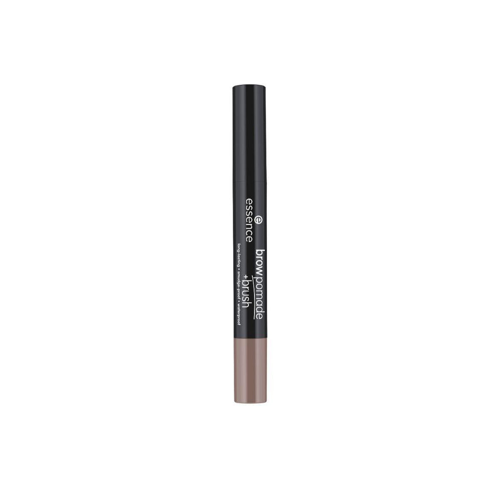Essence Brow Pomade + Brush | 04 Dark Brown | 4059729271181