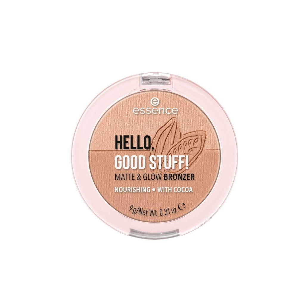 Essence HELLO, GOOD STUFF! MATTE & GLOW BRONZER | 2 Shades