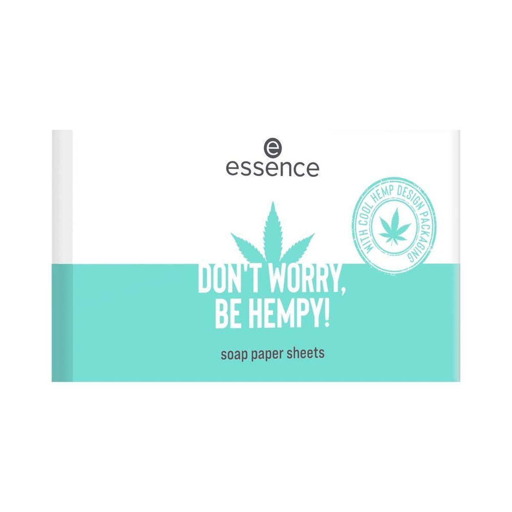 Essence DON'T WORRY, BE HEMPY! Soap Paper Sheets