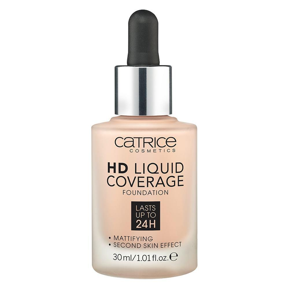 Catrice HD Liquid Coverage Foundation | Light Beige 010 | 4250947598283