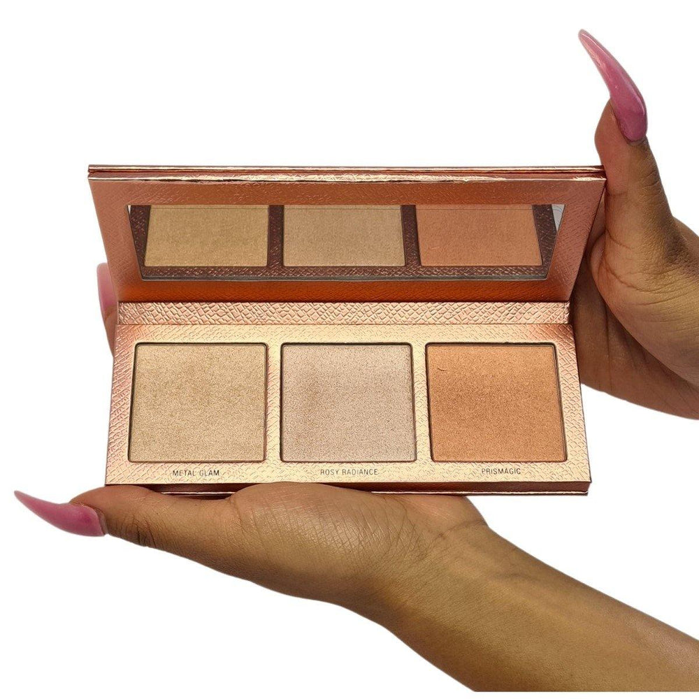 The GLOWrious Highlighting & Bronzing Palette